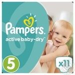 Пiдгузники Pampers Active Baby-Dry 5 Junior 11-18кг 11шт
