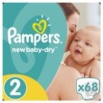 Подгузники Pampers New Baby-Dry 2 Mini 3-6кг 68шт