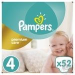 Подгузники Pampers Premium Care 4 Maxi 8-14кг 52шт