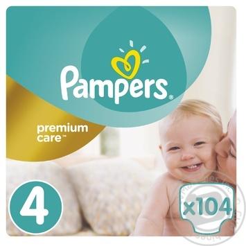 Подгузники Pampers Premium Care 4 Maxi 8-14кг 104шт