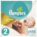 Подгузники Pampers Premium Care New Baby 2 Mini  3-6 кг 148шт