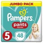 Трусики Pampers Pants 5 Junior 12-18кг 48шт