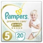 Diaper Pampers Premium care for children 12-17kg 20pcs