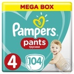 Трусики Pampers Pants 4 Maxi 9-15кг 104шт