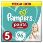 Трусики Pampers Pants Junior 5 12-17кг 96шт