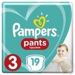 Diaper Pampers Pants for children 6-11kg 19pc