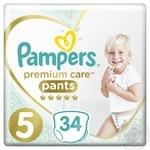 Трусики Pampers Premium Care 5 Junior 12-17кг 34шт