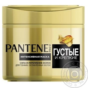 Маска Pantene Pro-V Густые и Крепкие для тонких ослабленных волос 300мл - купить, цены на Novus - фото 3