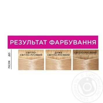 Краска-уход для волос L'Oreal Casting Creme Gloss 1021 Светло-светло-русый перламутровый без аммиака - купить, цены на Novus - фото 3