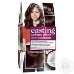 Краска-уход для волос L'Oreal Casting Creme Gloss 515 Морозный шоколад без аммиака - купить, цены на Novus - фото 7