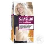 Фарба-догляд для волосся L'Oreal Casting Creme Gloss 1021 Світло-світло-русявий перламутровий без аміаку