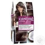 Краска-уход для волос L'Oreal Casting Creme Gloss 412 Какао со льдом без аммиака