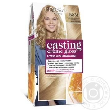 Краска-уход для волос L'Oreal Casting Creme Gloss 8031 Светло-русый золотисто-пепельный без аммиака