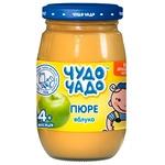 Пюре з яблук без цукру Чудо-Чадо від 4-х місяців 170г - купити, ціни на ЕКО Маркет - фото 1