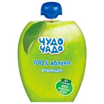 Chudo-Chado Apple Puree No added sugar 90g - buy, prices for CityMarket - photo 1