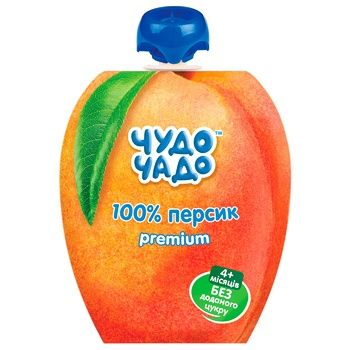 Chudo-Chado Puree for Children Peach without Sugar 90g
