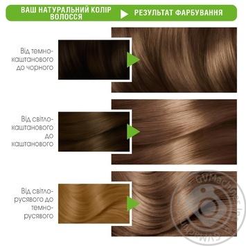 Краска для волос Garnier Color Naturals Creme с 3-мя маслами №6 Лесной орех - купить, цены на МегаМаркет - фото 2