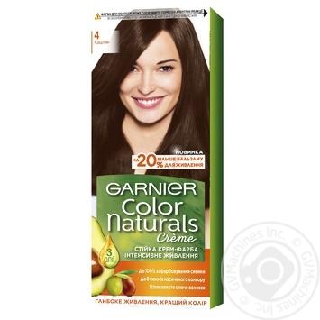 Краска для волос Garnier Color Naturals 4 Каштан