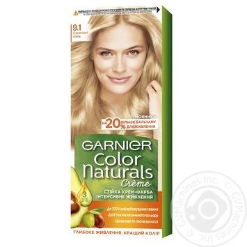 Краска для волос Garnier Color Naturals Creme с 3-мя маслами №9.1 Солнечный пляж