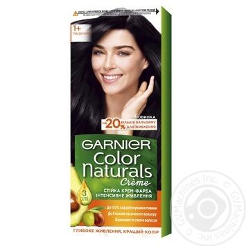 Garnier Color Naturals Creme №1+ Black Hair Color - buy, prices for Novus - image 1