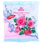 Морськая соль для ванн Желана Роза с пеной и коалином 500г