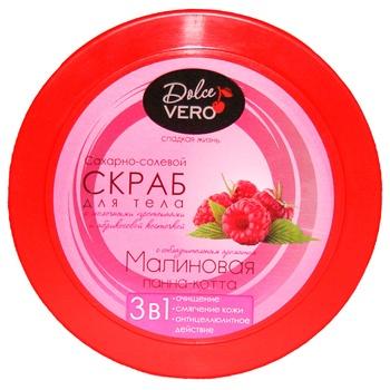 Dolce Vero Body Scrub Raspberry Panna Cotta 250g - buy, prices for CityMarket - photo 2