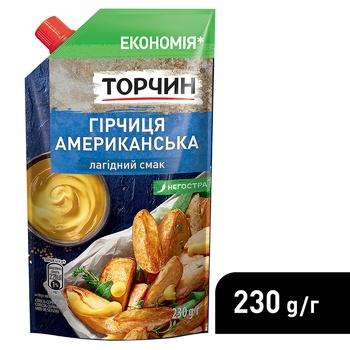 Горчица ТОРЧИН® Американская мягкий вкус 230г - купить, цены на Ашан - фото 4