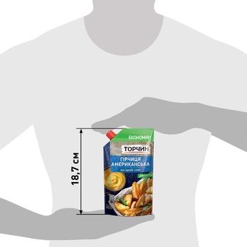 Горчица ТОРЧИН® Американская мягкий вкус 230г - купить, цены на Метро - фото 4