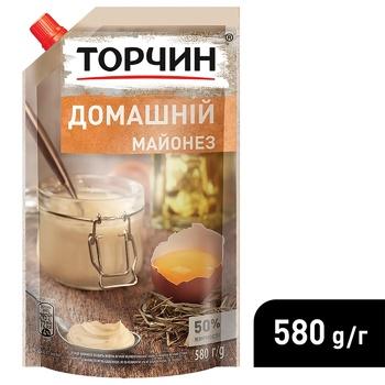 Майонез ТОРЧИН® Домашний 580г - купить, цены на Метро - фото 4