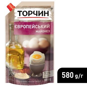 Майонез ТОРЧИН® Європейський 580г - купити, ціни на Метро - фото 4