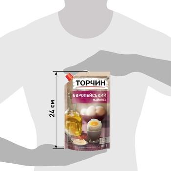 Майонез ТОРЧИН® Європейський 580г - купити, ціни на Метро - фото 3