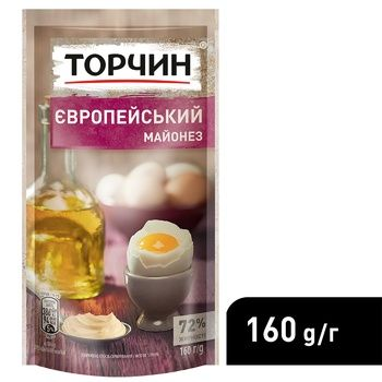 TORCHYN® Europeiskiy mayonnaise 160g - buy, prices for CityMarket - photo 4