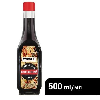 TORCHYN® Classic soy sauce 500ml - buy, prices for Auchan - photo 5