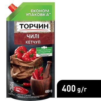 Кетчуп ТОРЧИН® Чилі 400г - купити, ціни на Метро - фото 4