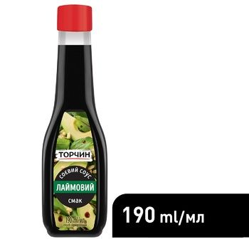 TORCHYN® Lime soy sauce 190ml - buy, prices for CityMarket - photo 6