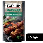 Маринад ТОРЧИН® с Чесноком и зеленью 160г