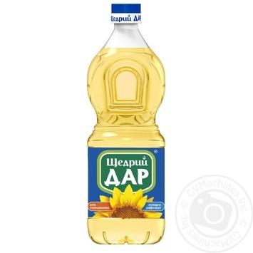Олія соняшникова Щедрий Дар рафінована 0,75л - купити, ціни на Novus - фото 1