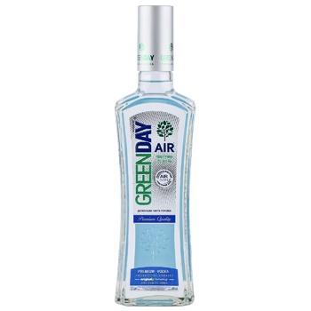 Водка Green Day Air Премиум 40% 0,5л - купить, цены на ЕКО Маркет - фото 1