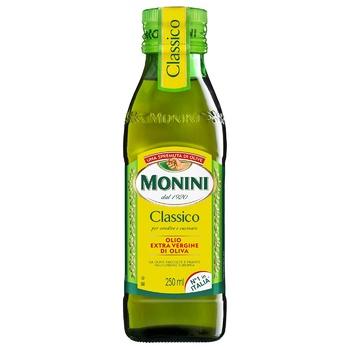 Масло оливковое Monini Extra Virgin первого холодного отжима 250мл - купить, цены на СитиМаркет - фото 1