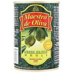 Оливки Maestro de Oliva с косточкой 280г