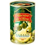 Оливки Maestro de Olivia без косточки 300г