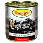Маслини чорні Iberica Chika без кісточки 200мл
