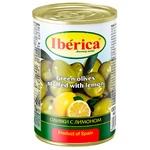 Оливки Iberica с лимоном 300г