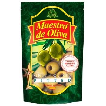 Оливки Maestro De Oliva без косточки 175г - купить, цены на Ашан - фото 1