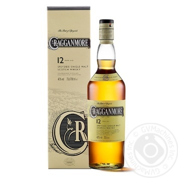 Віскі Cragganmore 12 років 40% 0,7л - купити, ціни на МегаМаркет - фото 1