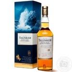 Виски Talisker 45,8% 18 лет 0,7л коробка
