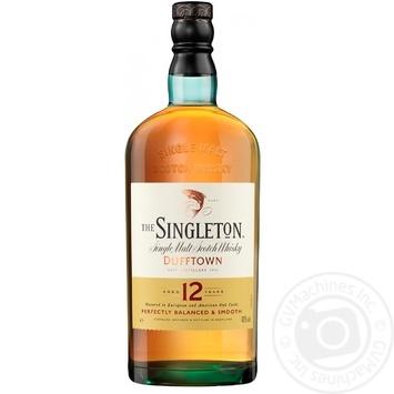 Виски The Singleton of Dufftown 12 лет 40% 0,5л