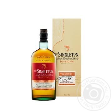 The Singleton of Dufftown Malt Master Whisky 40% 0,7l - buy, prices for Novus - image 1