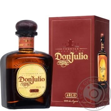 Текіла Don Julio Anejo Reserve 38% 0,7л - купити, ціни на Novus - фото 1