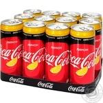 Coca-Cola Zero lemon carbonated beverage 1000ml
